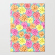 Spotty Rose Canvas Print