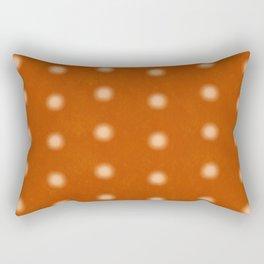 """""""Polka Dots Degraded & Orange Cream"""" Rectangular Pillow"""