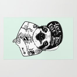 Sloth Tattooed Rug