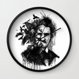 Poe Wall Clock