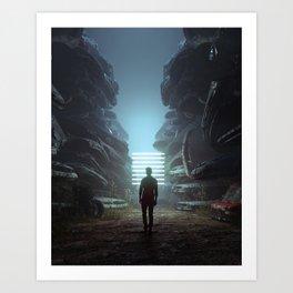 SALVAGE (everyday 12.17.17) Art Print