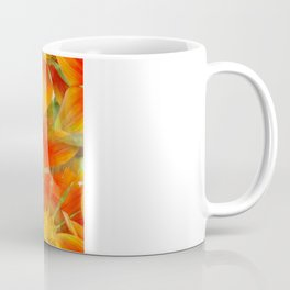 Seamless Vibrant Yellow Gazania Flower Coffee Mug