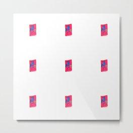 Pink shields Metal Print