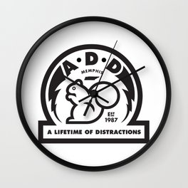 ADD: A Lifetime of Distractions Wall Clock