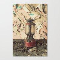 lantern Canvas Prints featuring Lantern by Shaun Lowe