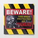 Beware! This Area Is Protected by Werewolves! by impartbytorg