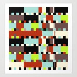 Chopin Fantaisie Impromptu (Dublin Airport Colours) Art Print