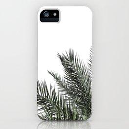 Palm Leaves, Modern Minimalist Wall Art iPhone Case