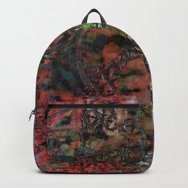Fenêtre et mousse Backpack
