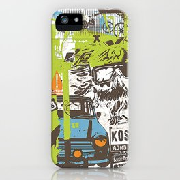 ADHD Thoughts iPhone Case