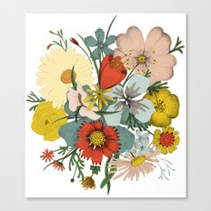 Flower Wad Canvas Print