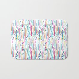 Rainbow Doodle & Dot Bath Mat