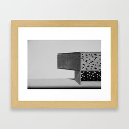 No Light Without Darkness #4 Framed Art Print