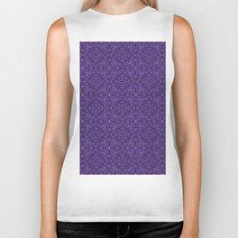 Purple Swirl pattern Biker Tank