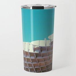 Parasol modern architectural photography Travel Mug