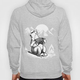 bear in the mountains gift Hoody