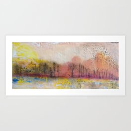 Scenes of Devastation and Loss I Art Print