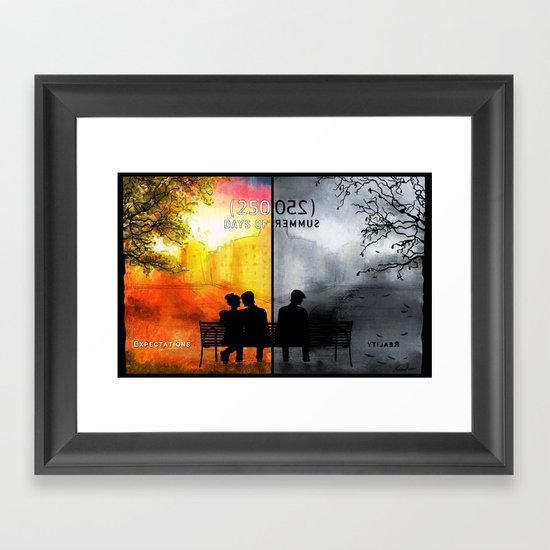 250/250 Days of Summer.... Framed Art Print