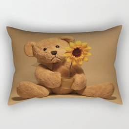 A flower for you Rectangular Pillow