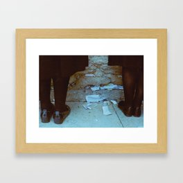 The Wailing Wall Framed Art Print