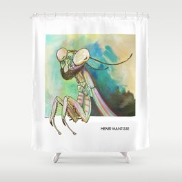 Henri Mantisse Shower Curtain