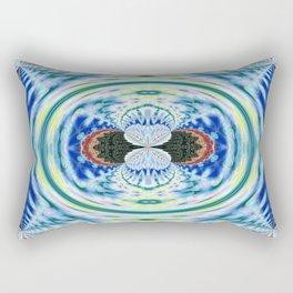 Newer Beginnings Mandala 10 Rectangular Pillow