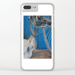 After a long day Clear iPhone Case