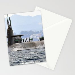USS FLORIDA (SSGN-728) Stationery Cards