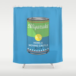 Howl's moving castle - Miyazaki - Special Soup Series  Shower Curtain