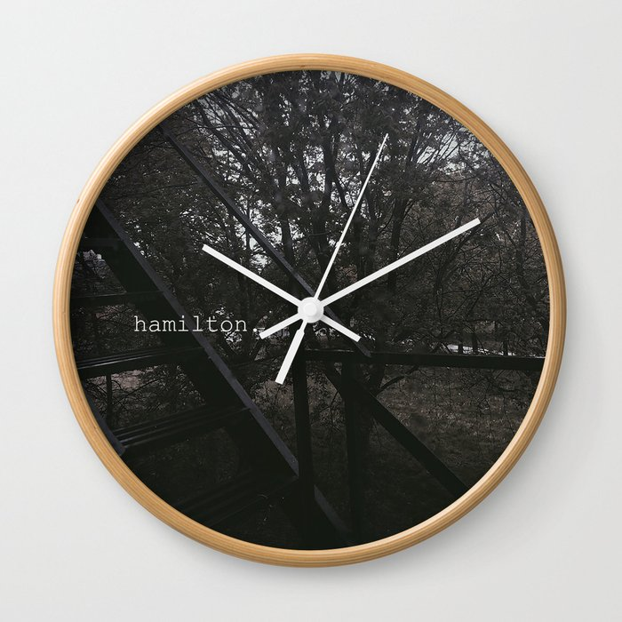 Hamilton wall clock Oyster Perpetual Rolex Society6 Hamilton Wall Clock By Dominiquesteele Society6