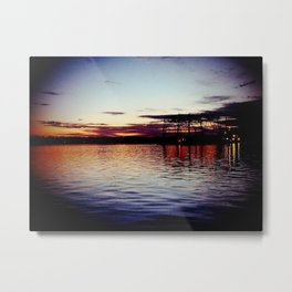 Moving up River Metal Print