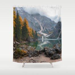 Dolomites 11 - Italy Shower Curtain