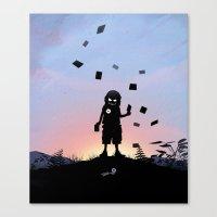 Joker Kid Canvas Print