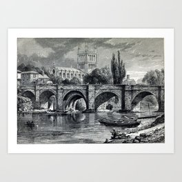 Cathedrals, abbeys and churches of England and Wales Art Print