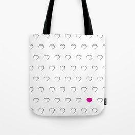 Hearts - Pink Tote Bag