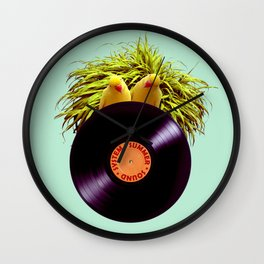 Summer Sound System Wall Clock
