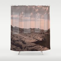 portal Shower Curtains featuring Portal by DM Davis