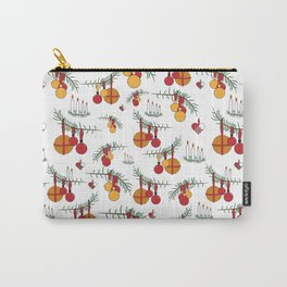 Scandinavian Christmas Snow Hygge Carry-All Pouch