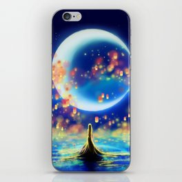 STARRY NIGHT MERMAID iPhone Skin