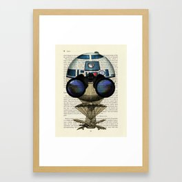 Star Wars R2-D2 Plucky Droid Framed Art Print