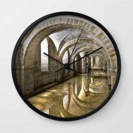 Winchester Cathedral Crypt Wall Clock
