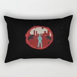 Law's Last Stand Rectangular Pillow