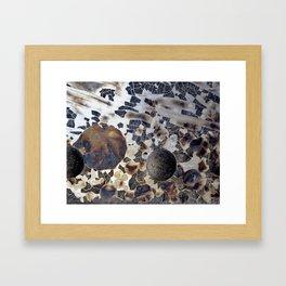 Overlapped Framed Art Print