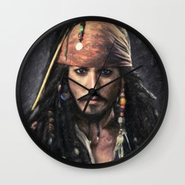 Jack Sparrow Wall Clock