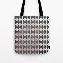 Marble Harlequin Tote Bag