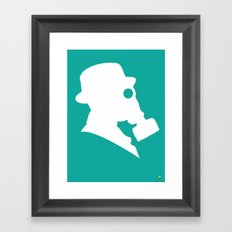 My Dexterous Shadow 2 of 4 Framed Art Print