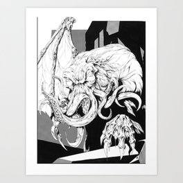 The Great Old One Art Print