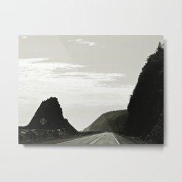Haute-Gaspesie Coastal Road Metal Print