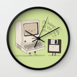 A Precious Database 2.0 Wall Clock