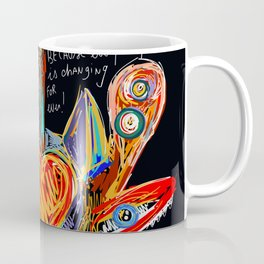 Live your dreams Street Art Graffiti African Coffee Mug